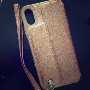 Rose gold iPhone s case